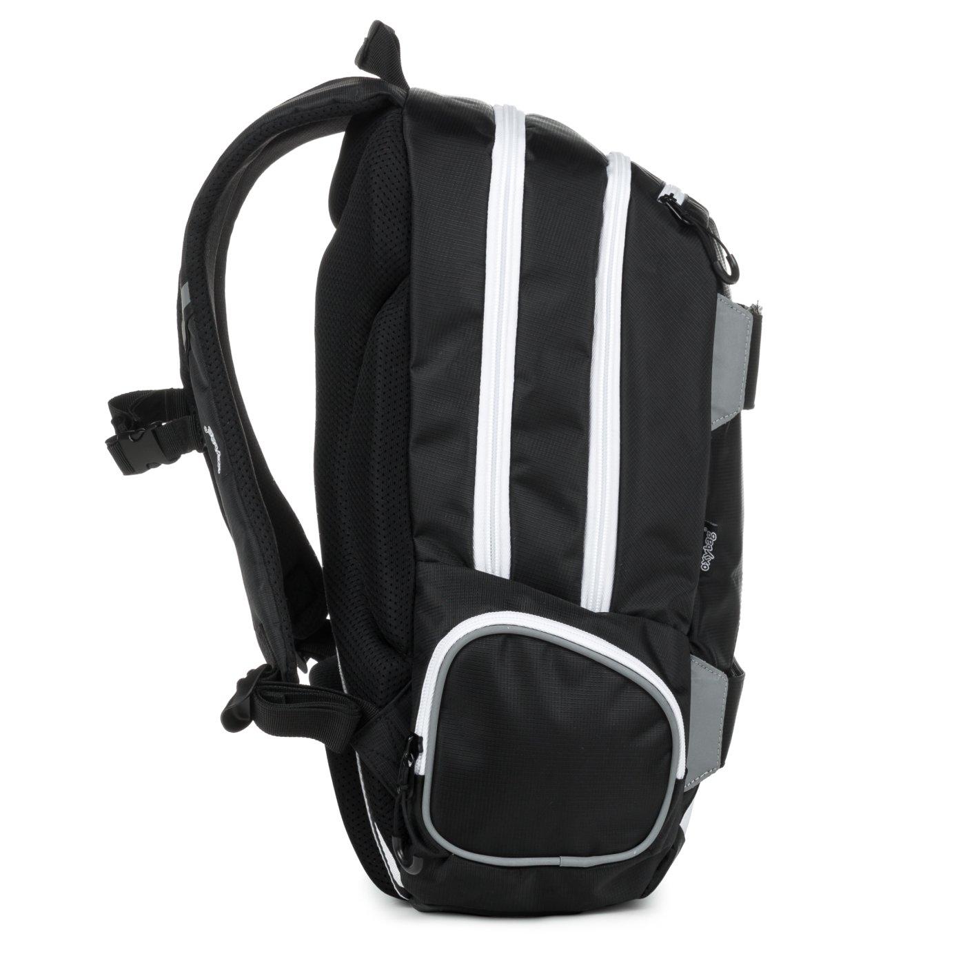 Student backpack OXY Sport I. Black   White - Školní potřeby » OXY ... fb7d90ab1f